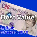 The Roderick Bluh Lectures - 'Best Value' 2010