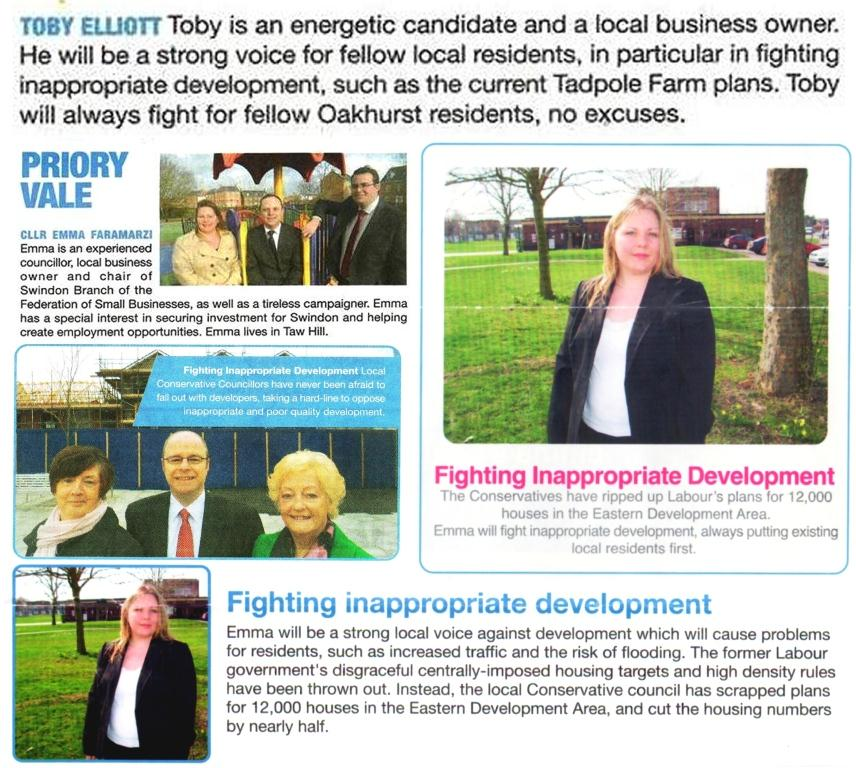 'Fighting Inapproriate Development' - Tory Election Pledges Broken