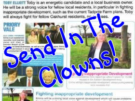 Tory Election Pledges Broken - Send In The Clowns